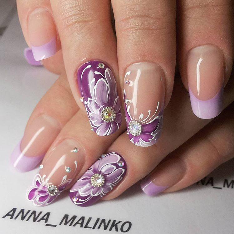 Anna Malinko Ongle Pinterest
