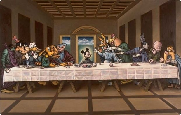 Clever Parodies Of The Last Supper Painting 32 Works Of Art