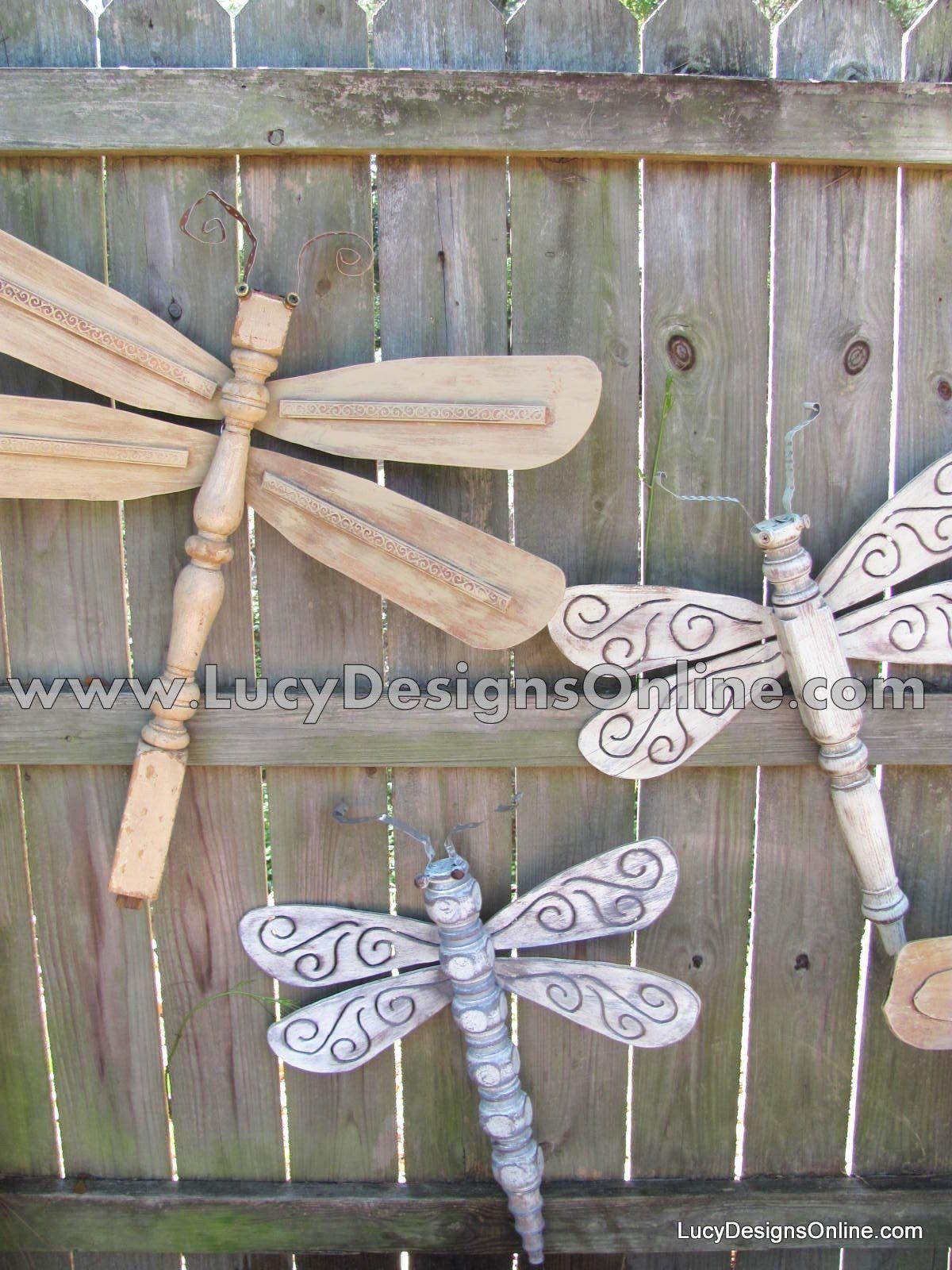 Original Table Leg Dragonflies