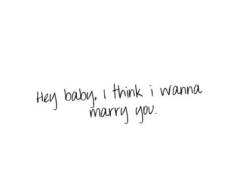 I Think I Wanna Marry You 3 With Images Marry You Bruno Mars