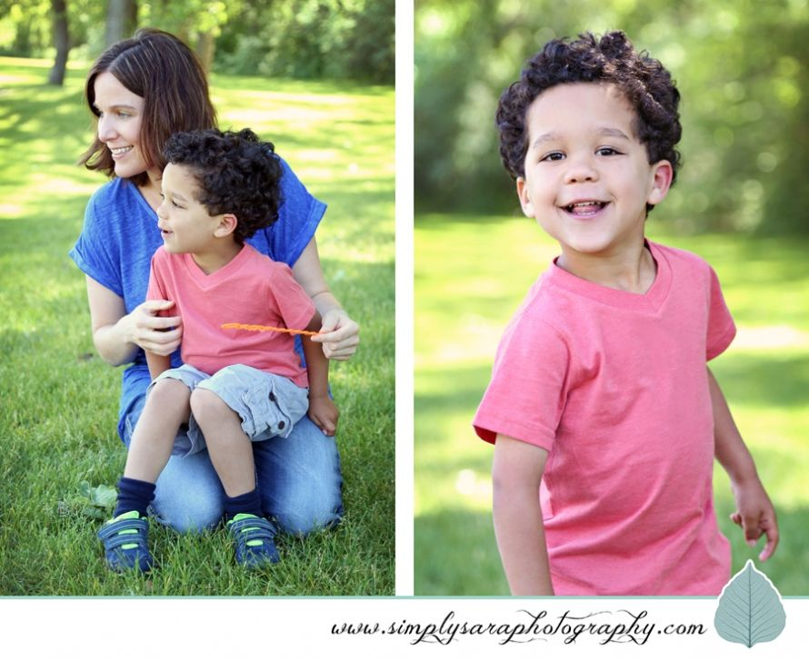 3 Year Old Boy Photo Ideas - Outdoors