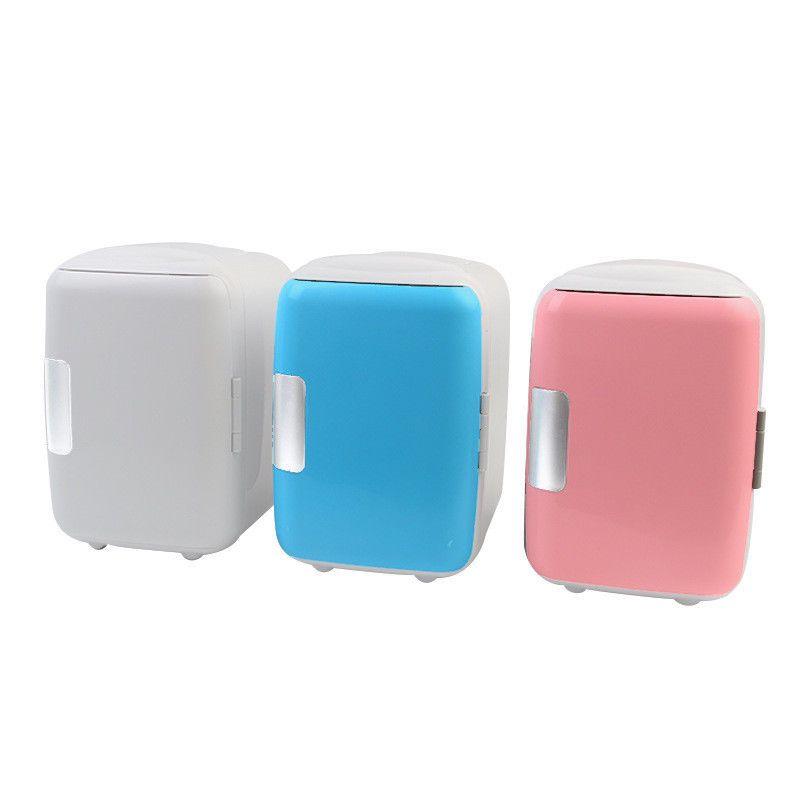 Mini Car Fridge Cooler Warmer Travel Refrigerator Portable