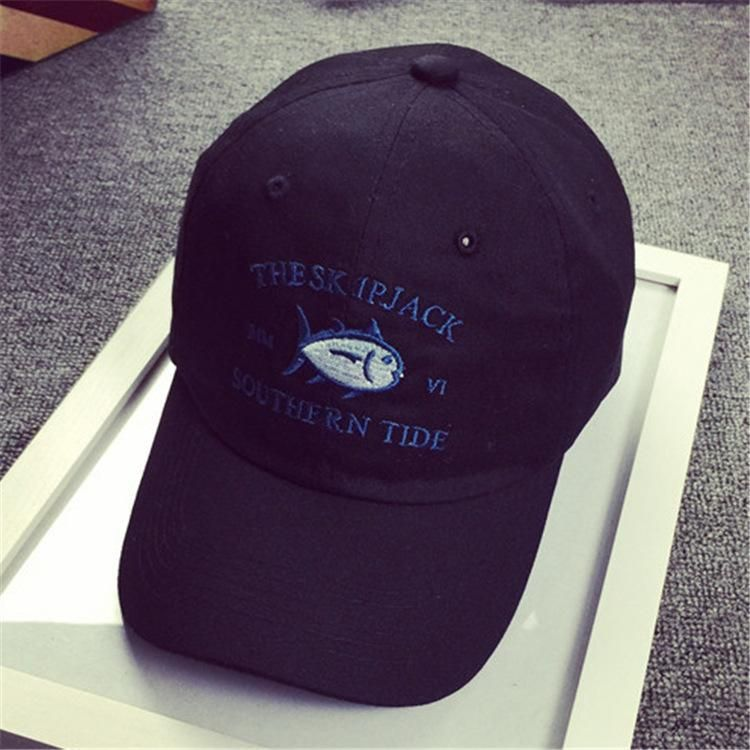 THE SK IPJACK SOUTHERN TIDE fish embroidered baseball caps curved brim hat  visor bent outdoor golf visor hats e84d715192d