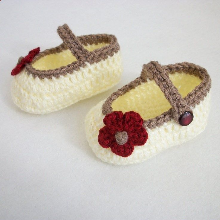 Crocheted Mary Janes | Upcycle | Pinterest