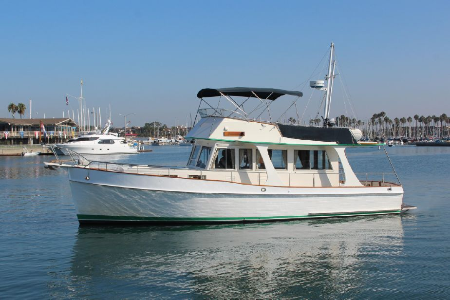 1987 Grand Banks 42 Europa For Sale In Long Beach Ca Grandbanks Trawlers Grand Banks Yachts Boat Used Boats