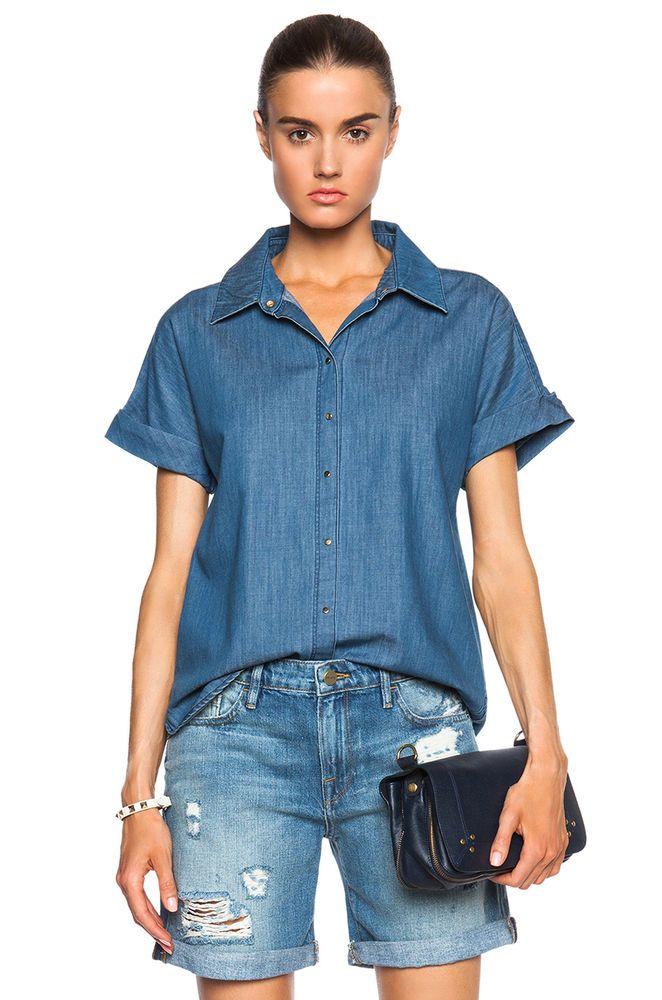 32184fa1ba FRAME DENIM Le Grand Garcon Sexy Distressed Boyfriend Ripped Jeans Shorts  24 #FrameDenim #Relaxed