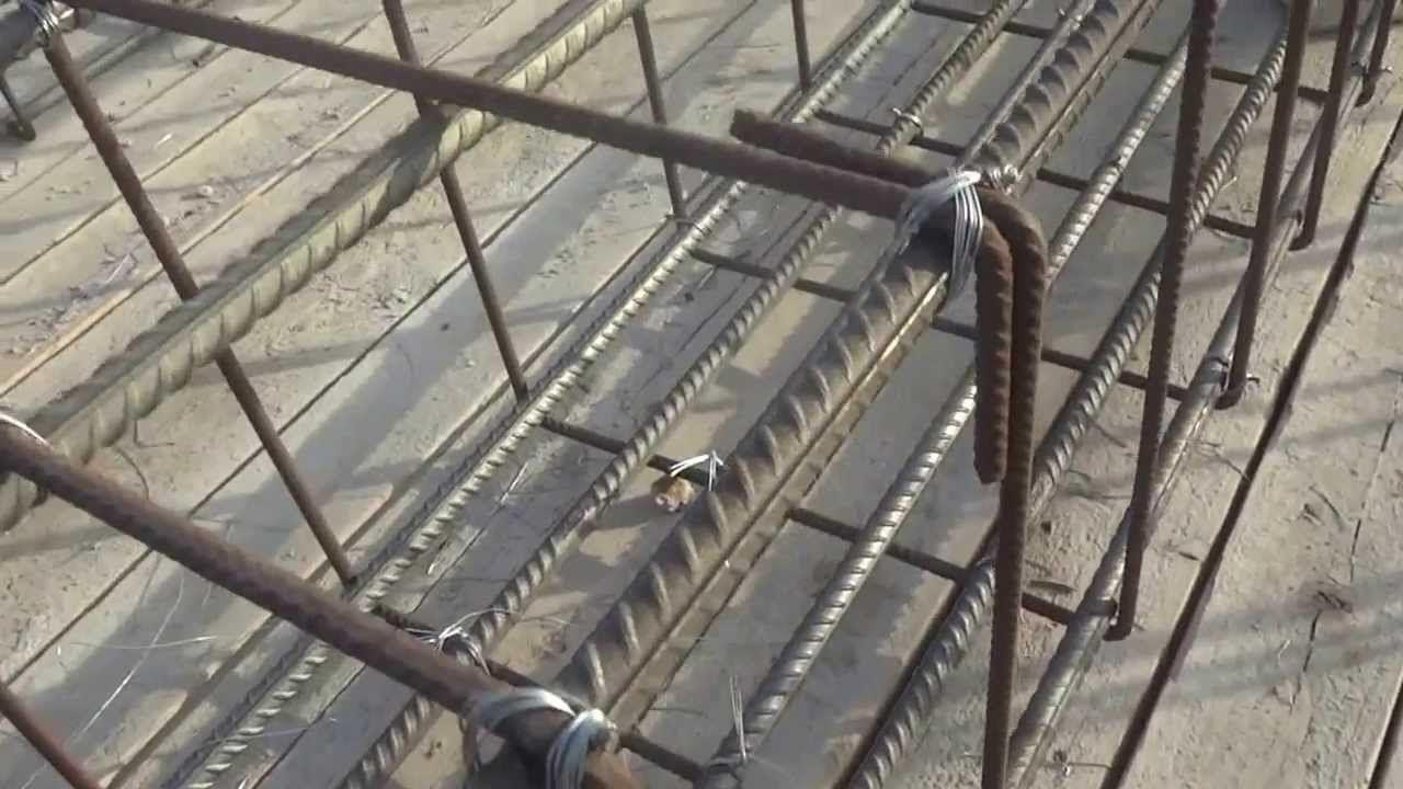 اهمية ربط الكانات بأسياخ حديد التسليح Utility Pole Construction Projects