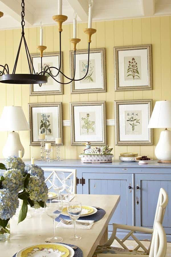 enchanting lakeside cottage with charming details in on lake cottage interior paint colors id=69411