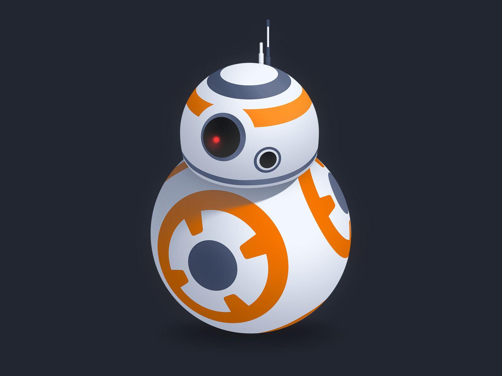 ArtStation - BB-8!, Ernest Liu