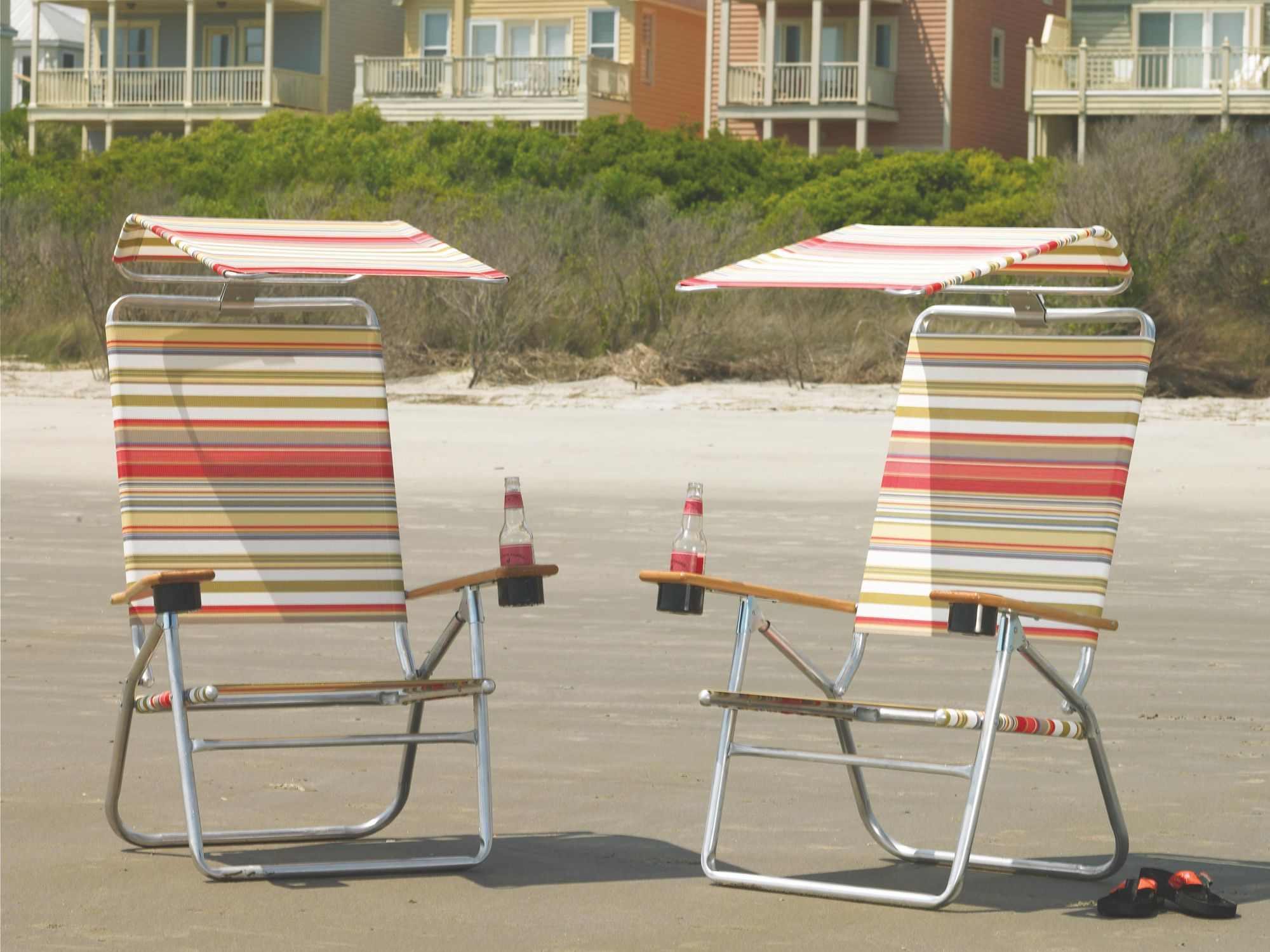 Telescope Casual Beach Chairs with Hood Sling Lounge Set | LNEBLS & Telescope Casual Beach Chairs with Hood Sling Lounge Set | LNEBLS ...