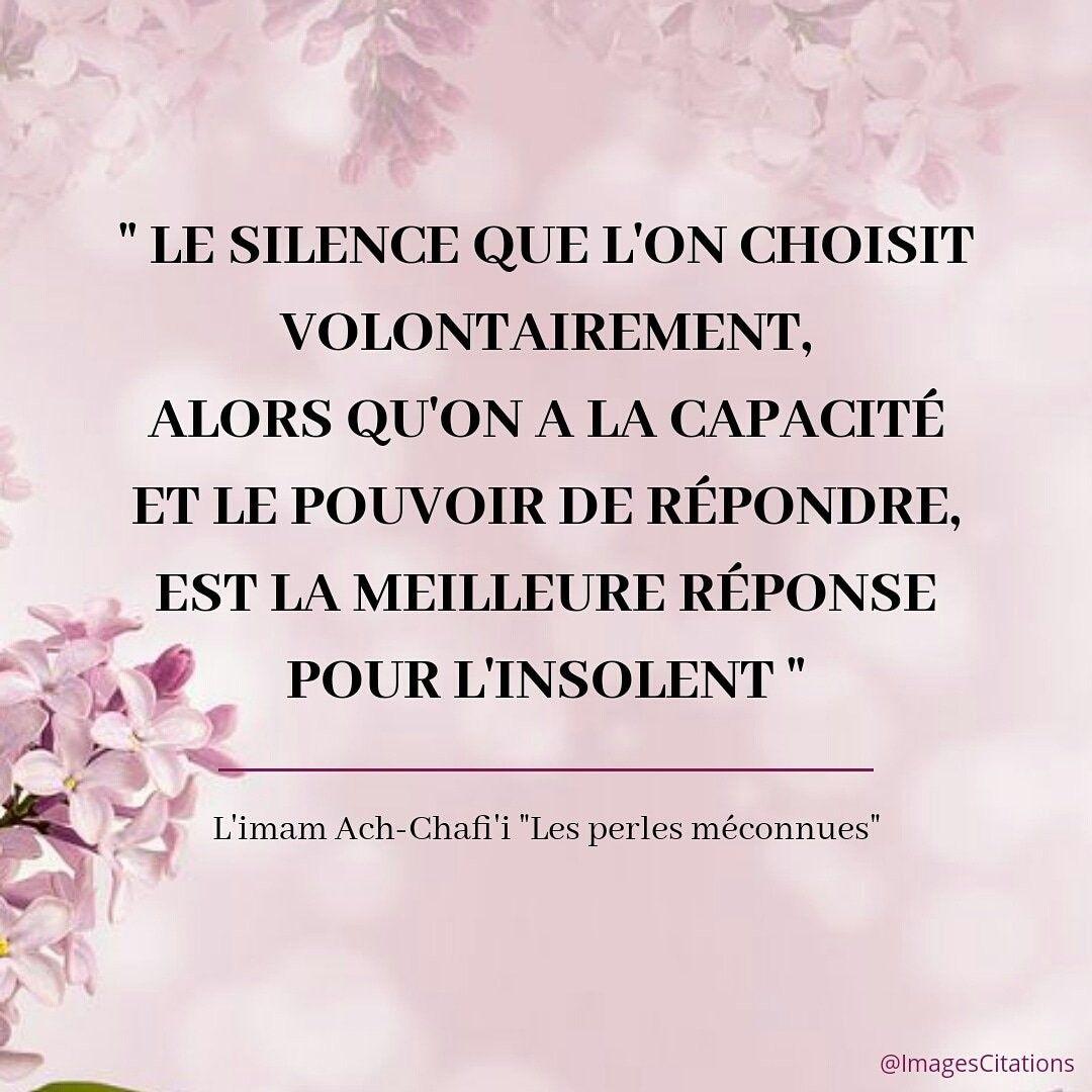 Le Silence Est La Meilleur Arme Belles Citations