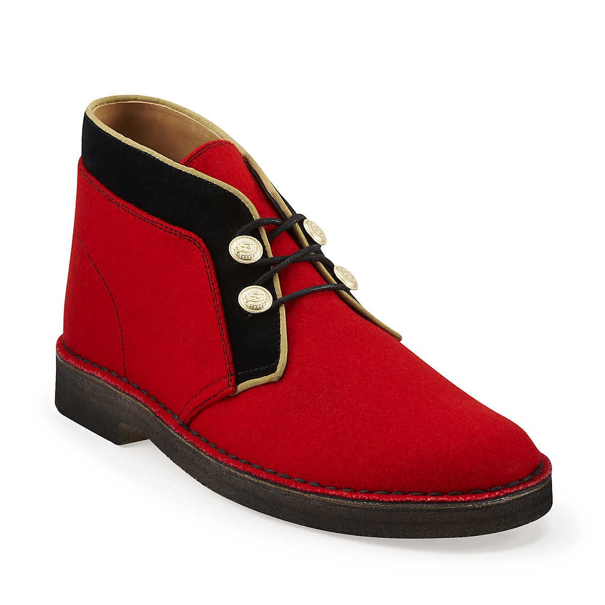 5a6f1e818e1bd5 Desert Boot-Men in Hainsworth Synthetic - Mens Boots from Clarks ...