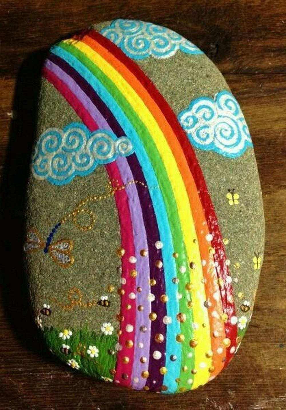20 Incredible DIY Painted Rock Design Ideas ~ GODIYGO.COM