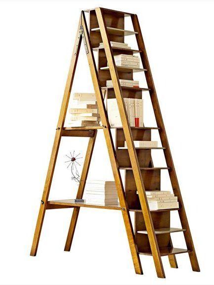 cherry wood shelving unit architecte by roche bobois books wood stair leiter. Black Bedroom Furniture Sets. Home Design Ideas