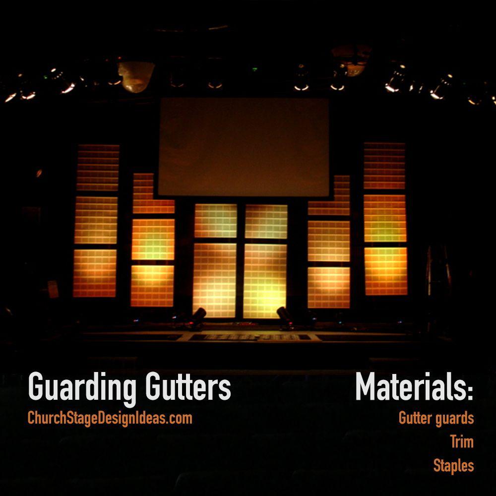 Guarding Gutters