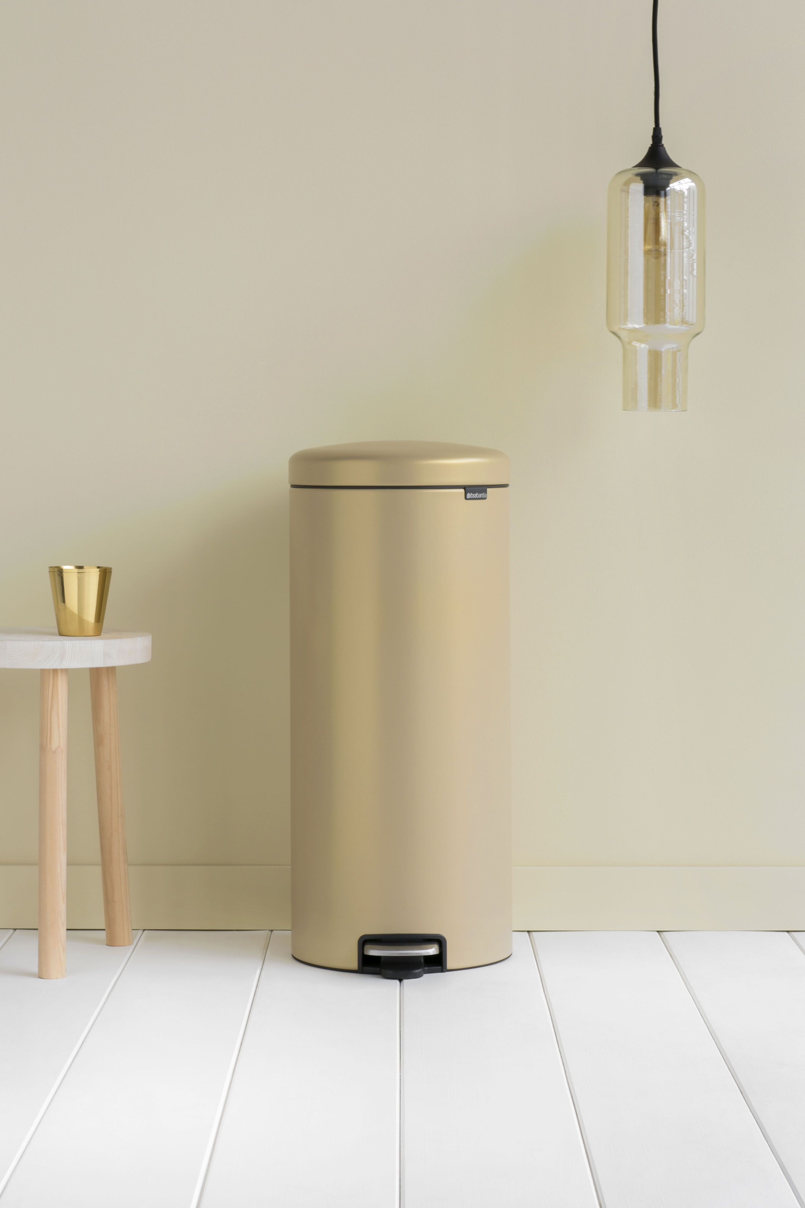 Brabantia Motioncontrol Pedaalemmer 30 L.Let Your 12 20 Or 30 Liter Newicon Blend In With The Serene And