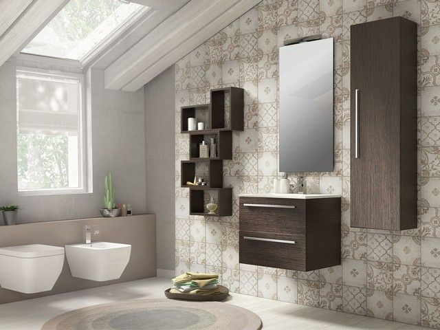 Next base lavabo 59x45xh50 wenge 39 mobili bagno - Iperceramica mobili bagno ...