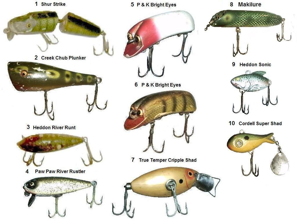 Vintage fishing view vintage lures fish pinterest fish for Collectible fishing lures