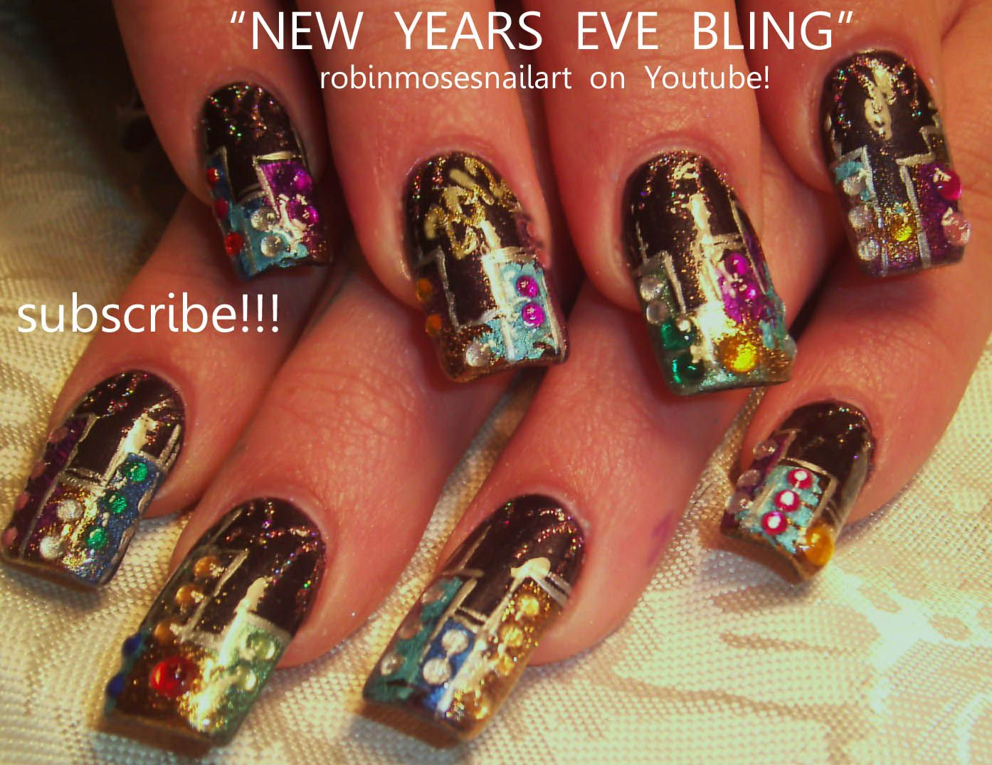latest styles in holiday nails | New Year, New Nails: 5 Fabulous ...