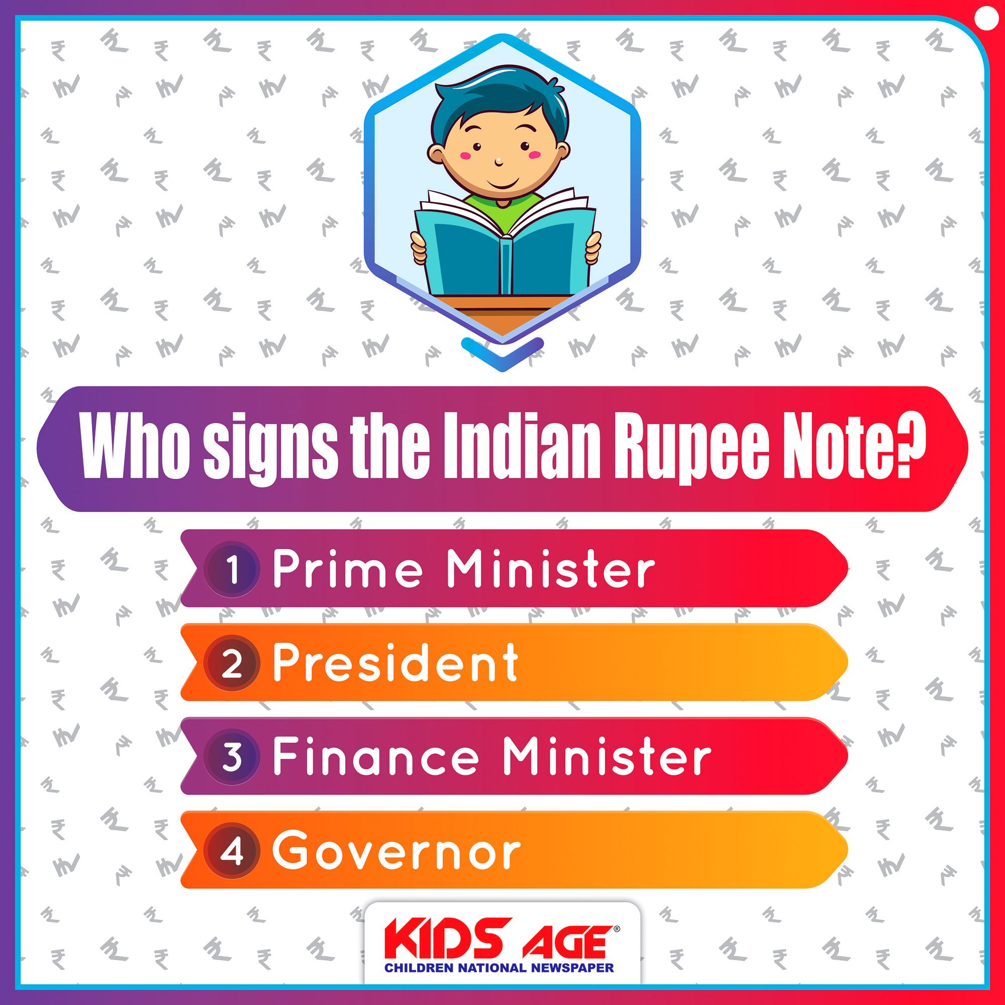 General Knowledge Quiz About Indian Currency Kidsage