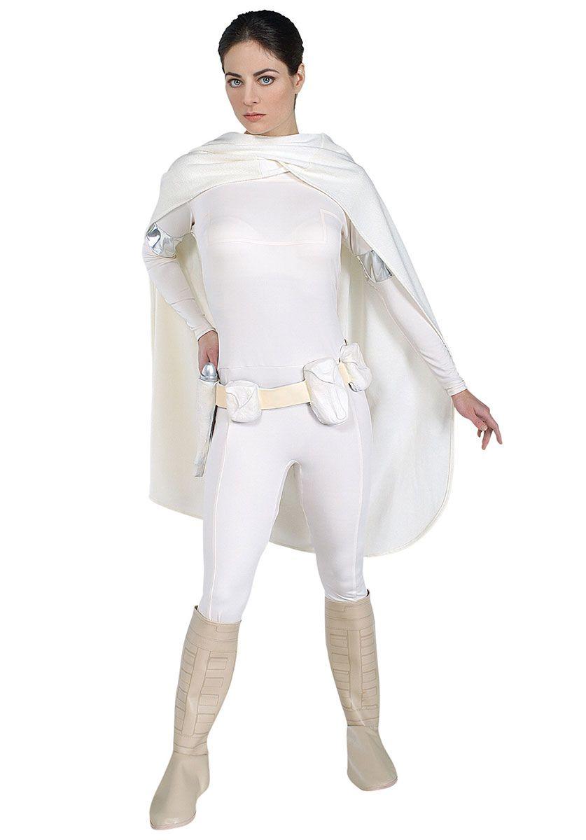 Padme Amidala Deluxe Costume Star Wars™ Fancy Dress - Star Wars at Escapade™ UK  sc 1 st  Pinterest & Padme Amidala Deluxe Costume Star Wars™ Fancy Dress - Star Wars at ...