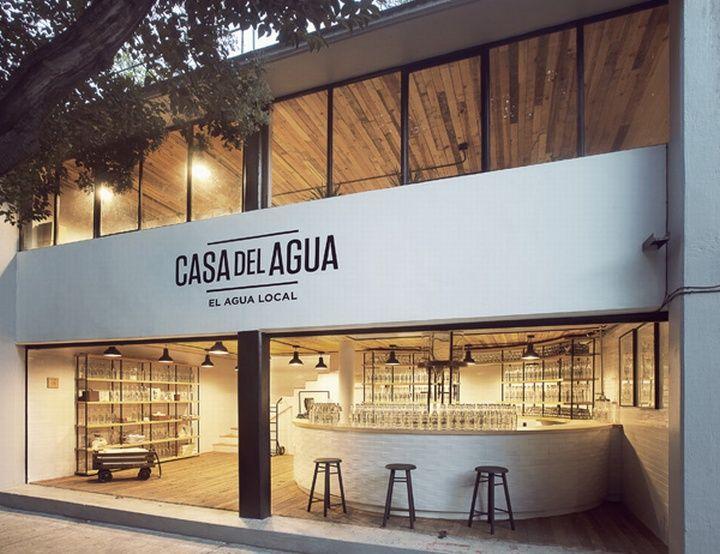 Casa del Agua store by Héctor Esrawe, Mexico City store design