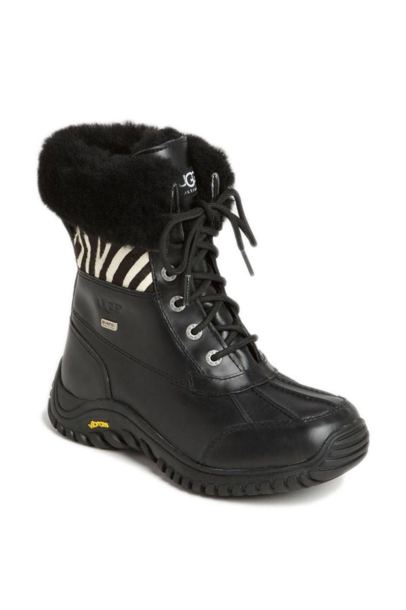 UGG® Australia Adirondack Exotic Boot, $239.95; nordstrom.com Courtesy of Nordstom -