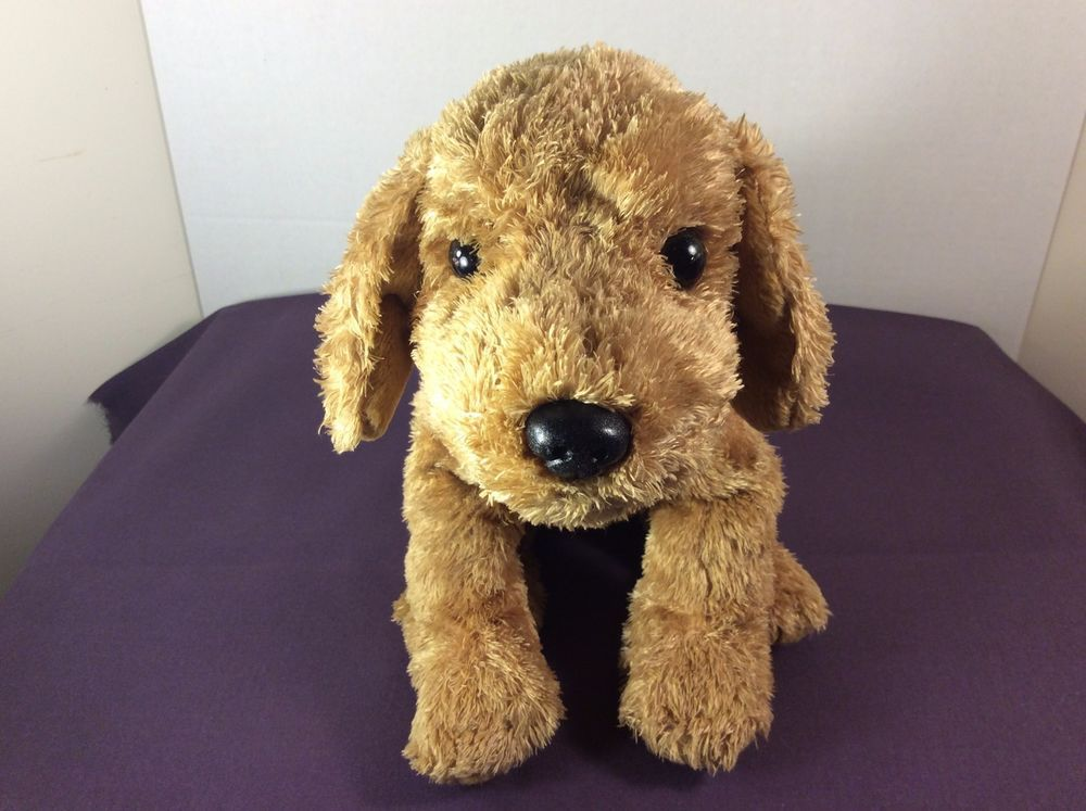 2002 Ty Classic Golden Labrador Retriever Cody Plush Puppy Dog Red