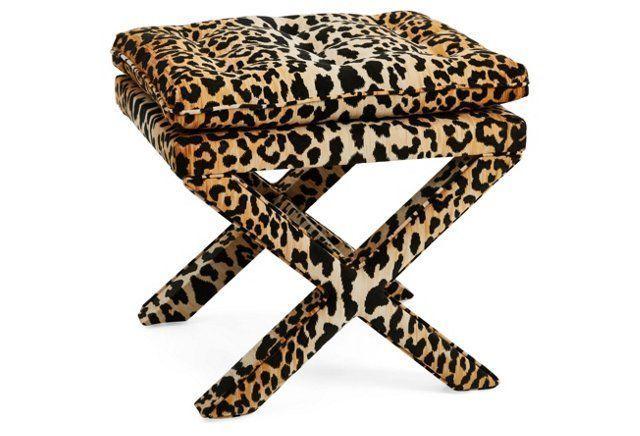 Swell Upholstered In A Chic Leopard Print Velvet Our Dalton Ncnpc Chair Design For Home Ncnpcorg