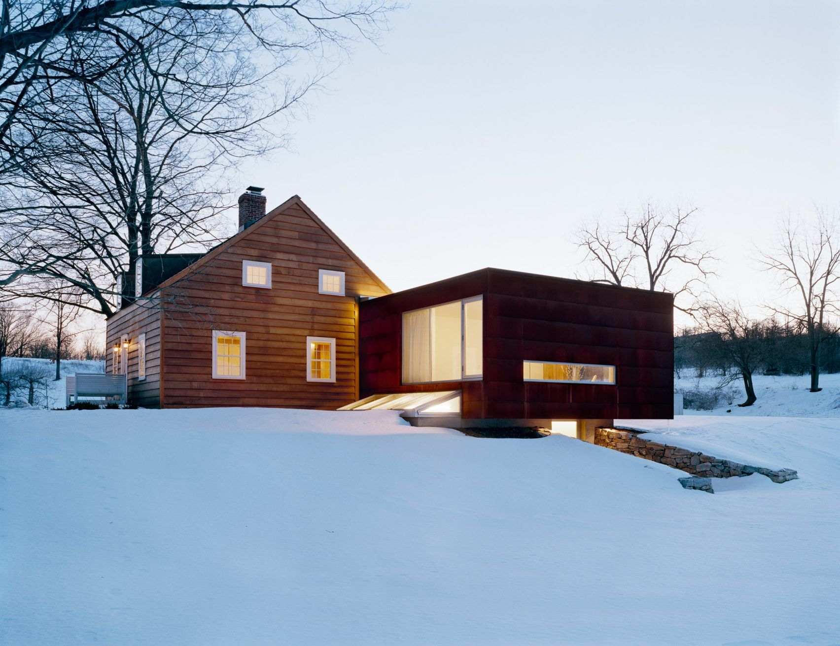 Ten Broeck Cottage by Ten Broeck Cottage House, Modern