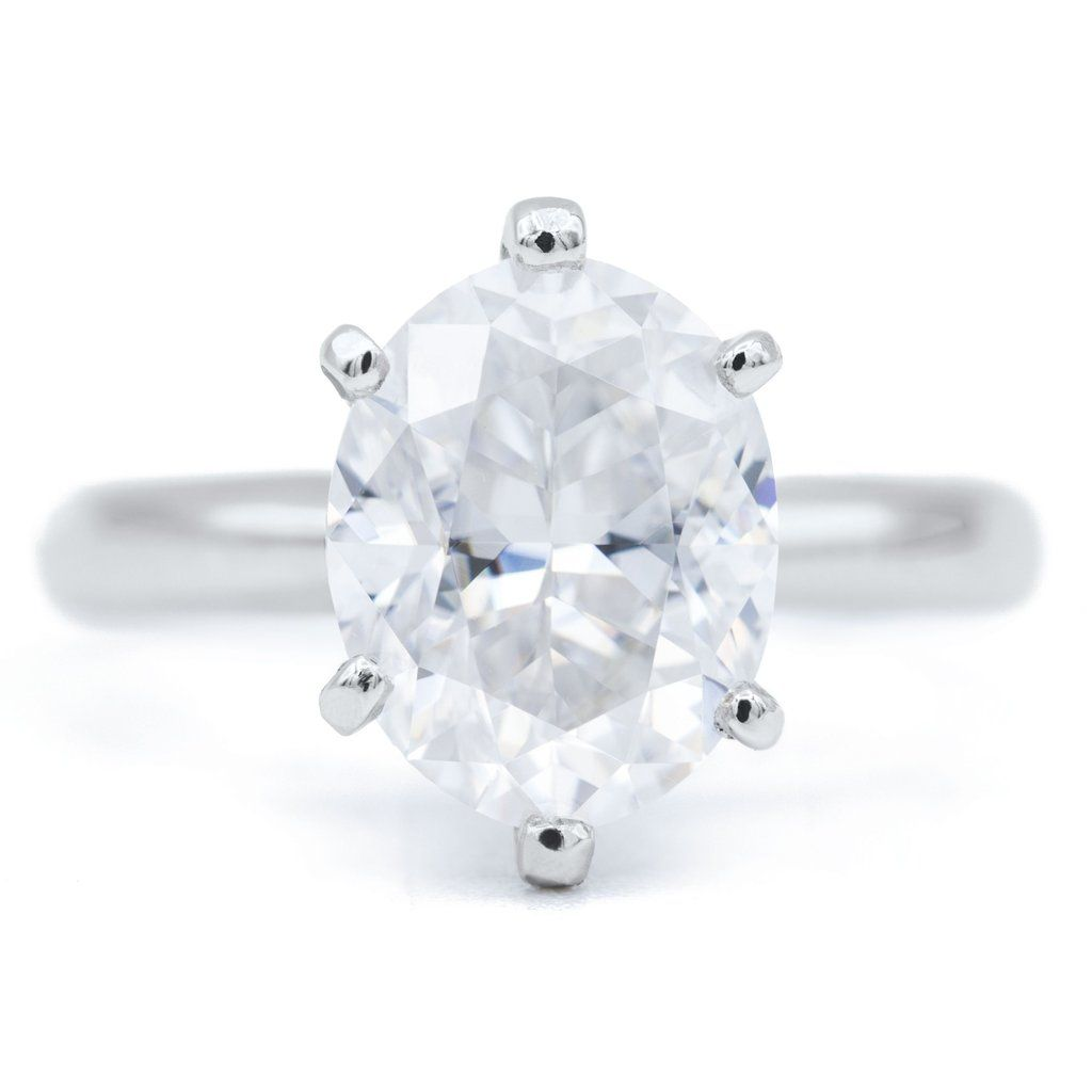 NEW** Oval First Crush FAB Moissanite 6 Prongs FANCY | Rings | Rings