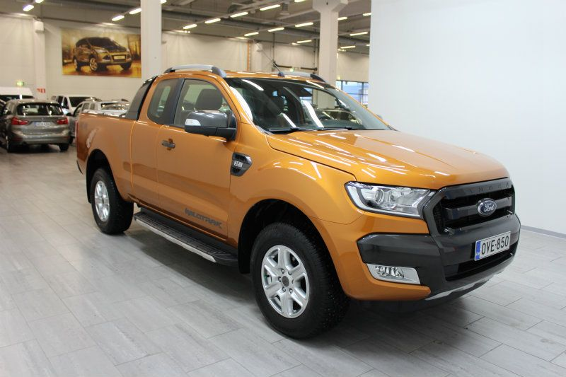 2017 Ford Ranger Super Cab 3 2 Wildtrak Automatic Finland Version Fordranger Rangerwildtrak