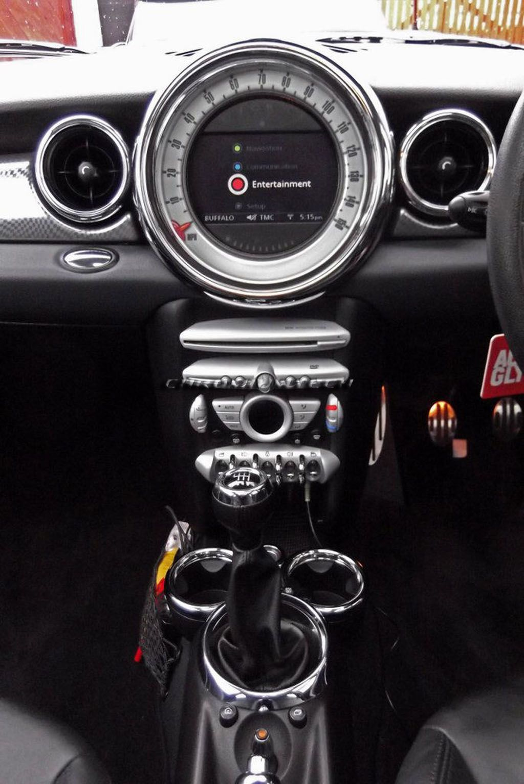 07+ MINI Cooper/ONE/S (R55, R56, R57) Chrome Dashboard