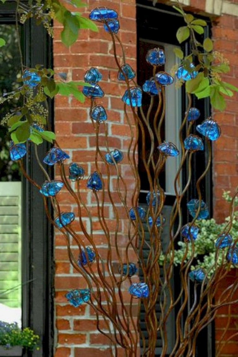 12+ Exciting Outdoor Metal Garden Art Ideas You Must Try - Page 12