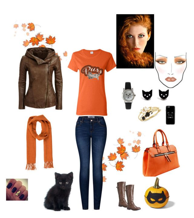 """""""Fun Fall Look"""" by klhcollection on Polyvore featuring 2LUV, Salvatore Ferragamo, Avenue, Olivia Pratt, Finest Imaginary, Betsey Johnson, Casetify and MAC Cosmetics"""