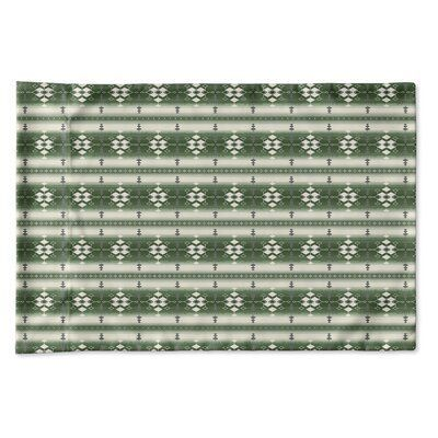 World Menagerie Mayes Geometric Pillow Case   World Menagerie Mayes Pillow Case Size 30 W x 20 L Colour Green