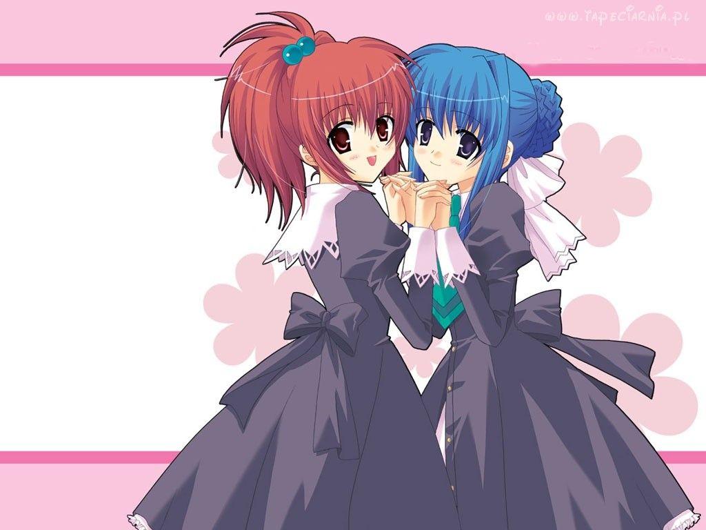 Strawberry Panic Nagisa And Tamao Strwaberry Panic Anime