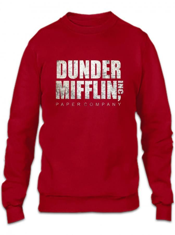 dunder mifflin funny Crewneck Sweatshirt