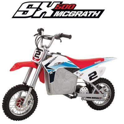 Kids Razor Sx500 Mcgrath Electric 36v Dirt Rocket Bike Cool Dirt Bikes Kids Motorcycle Dirt Bikes For Kids