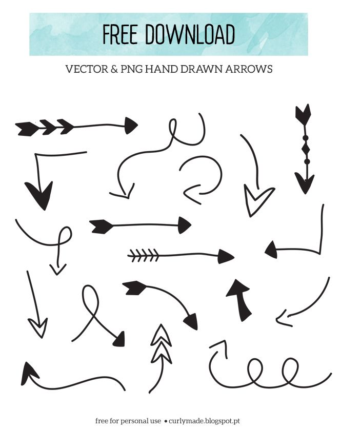 free download hand drawn arrows hand drawn arrow and curly rh pinterest co uk free arrow clipart images free arrow clipart pictures