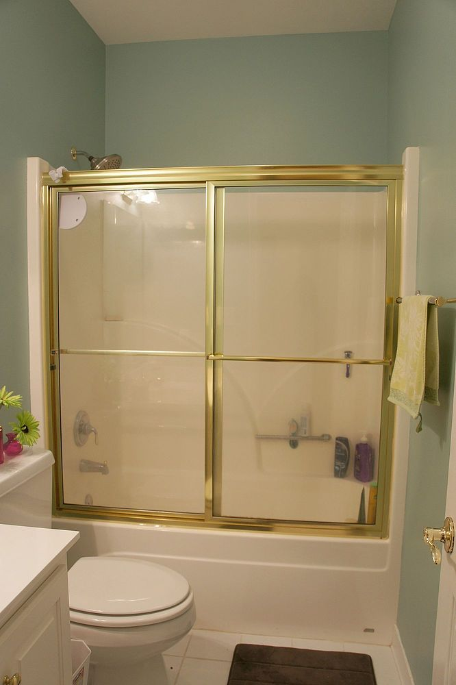 Easy Ways To Update An Outdated Bathroom Glass Shower Doors Shower Doors Glass Shower