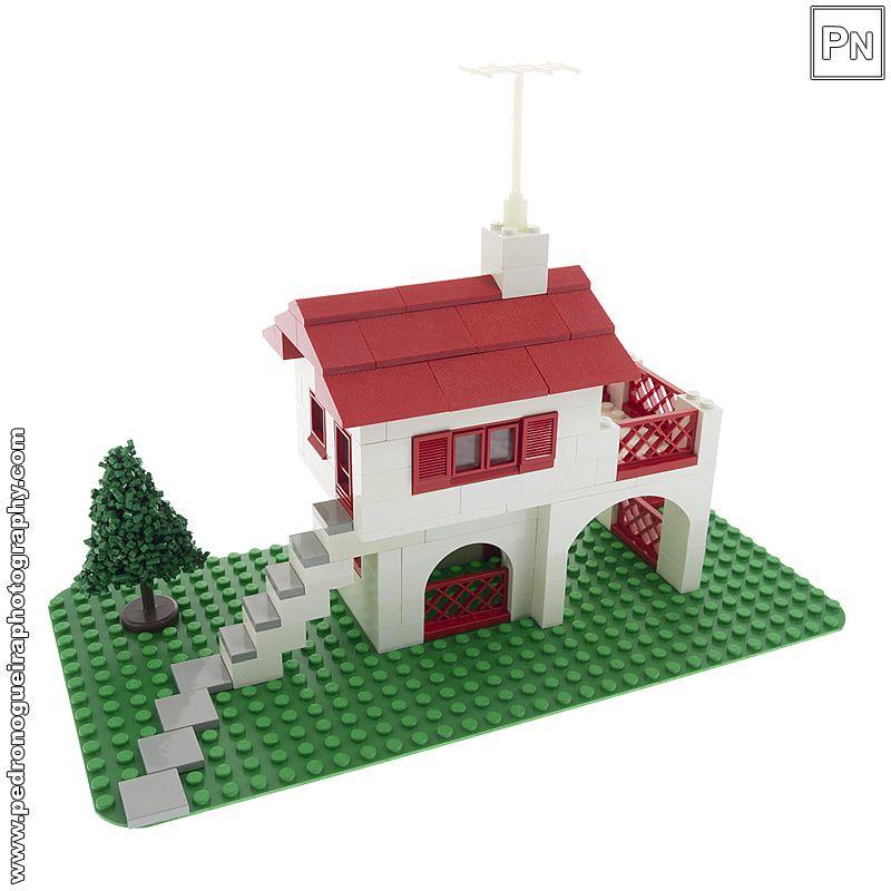 Spanish Villa Vintage Set 350-1 My LEGO. Pedro Nogueira Photography.