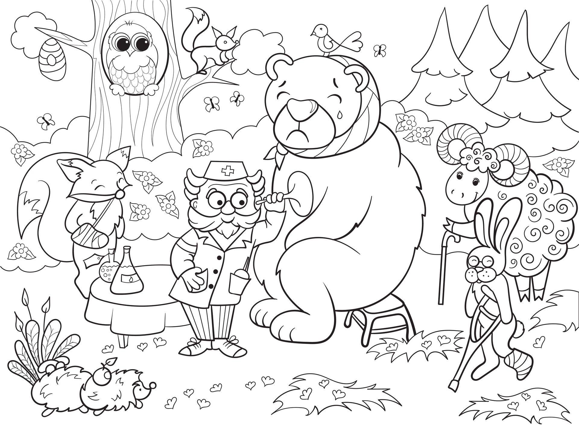 Ausmalbilder Von Bibi Und Tina 3 : Artstation Coloring Book Julia Novosilska Malvorlagen