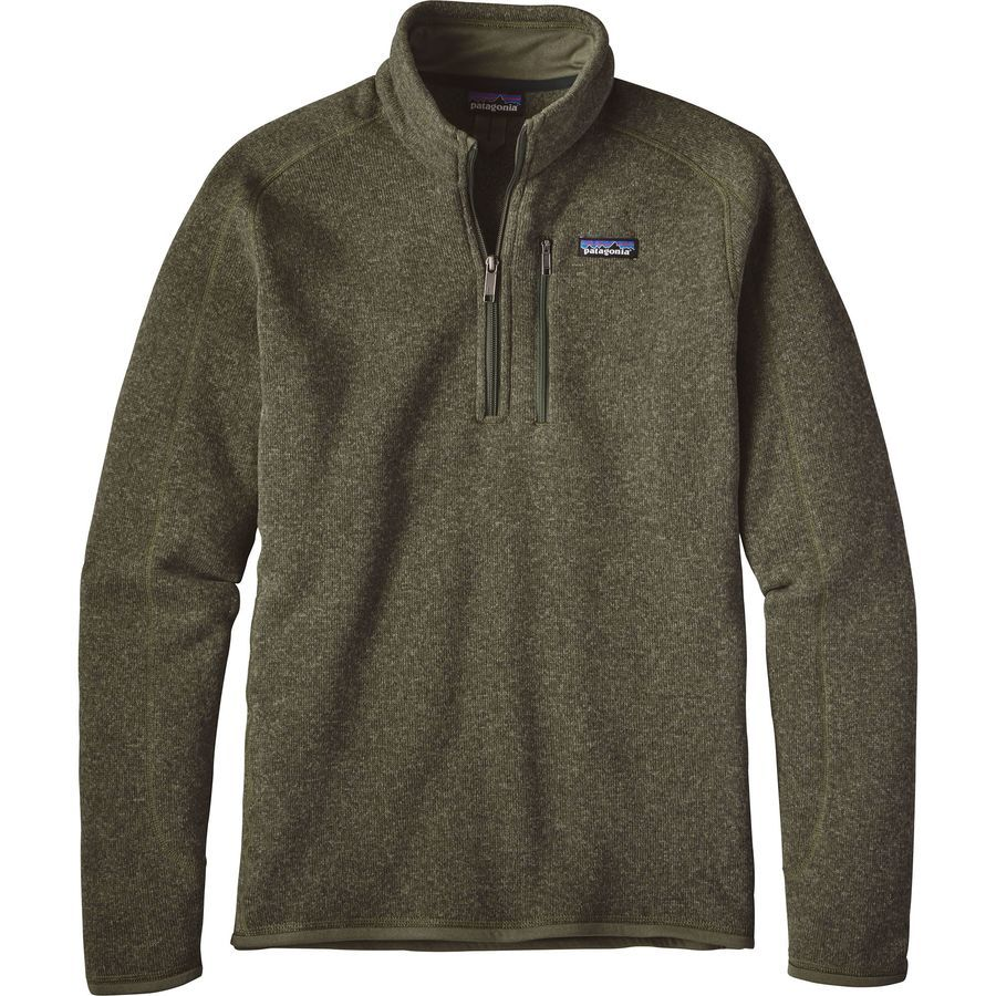 Patagonia Better Sweater 1 4 Zip Fleece Jacket Men S