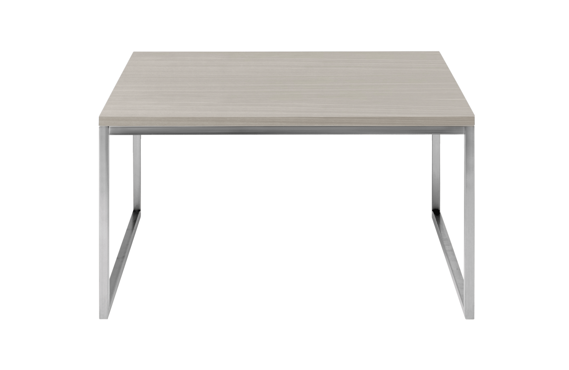 como coffee table 60x60 medium, white oiled oakbolia