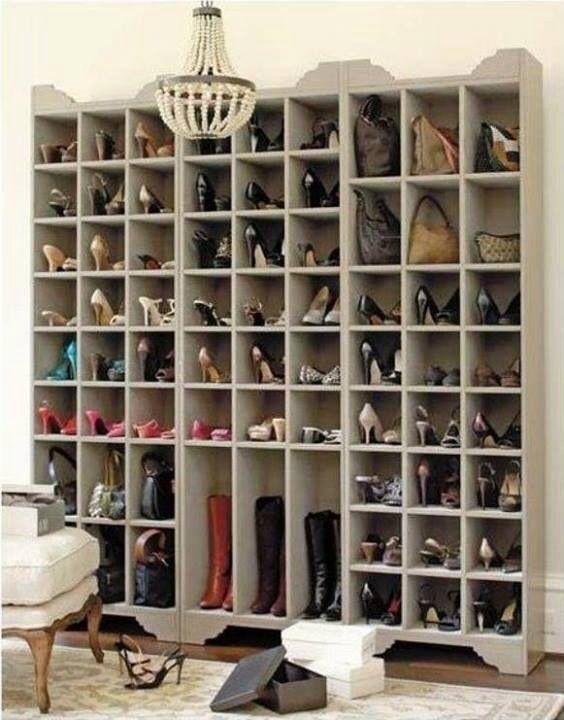 Librerie Billy usate come scarpiera | Idee Casa | Decorazioni casa ...