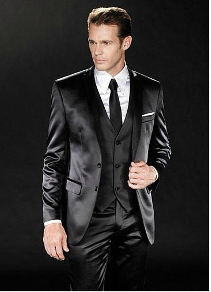 2016 Men Fashion Designer Wedding Groom Tuxedo Dinner Suit Blazer ...