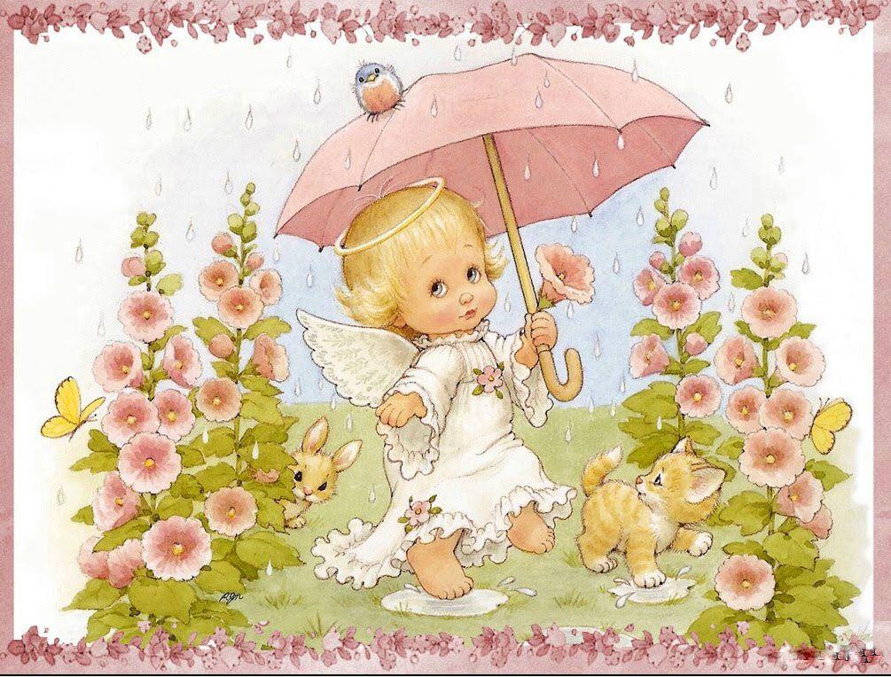 Красивые открытки с маленькими девочками, доброго утра удачной