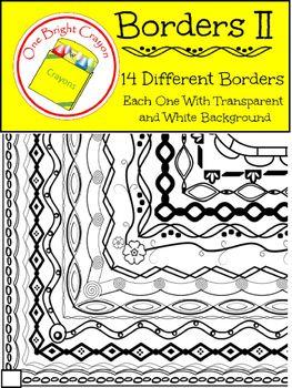 artistic borders ii thin black line creative and decorative obc rh pinterest com