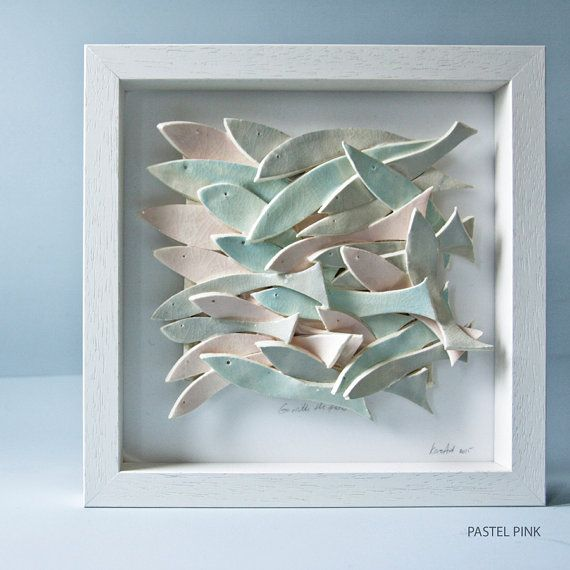 ceramic wall art ceramic fish art sculptural pottery tile Inspirational - Minimalist ceramic wall HD